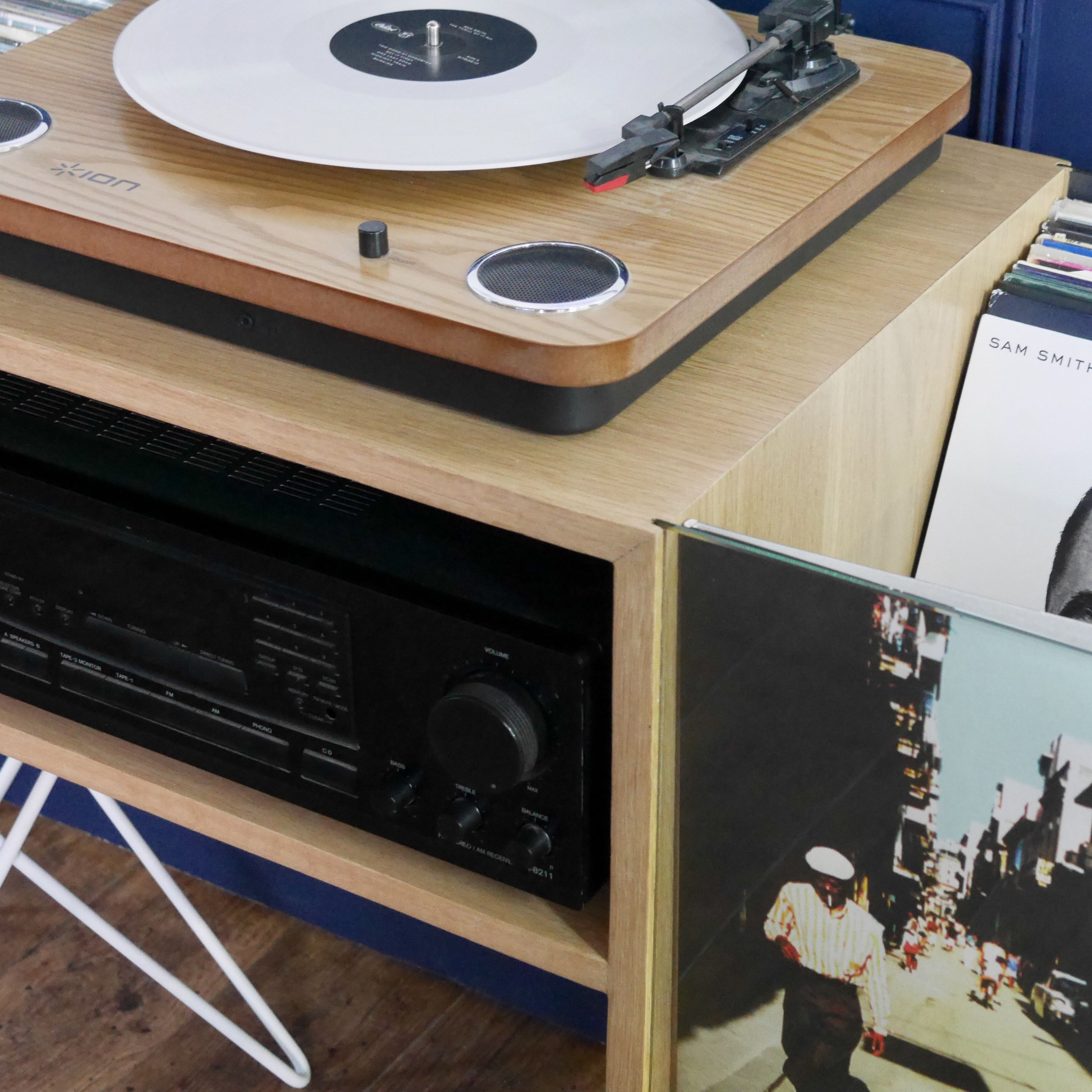 Vinyle Rangement Meuble Vinyle Stockage De Disque Vinyle Meuble Rangement