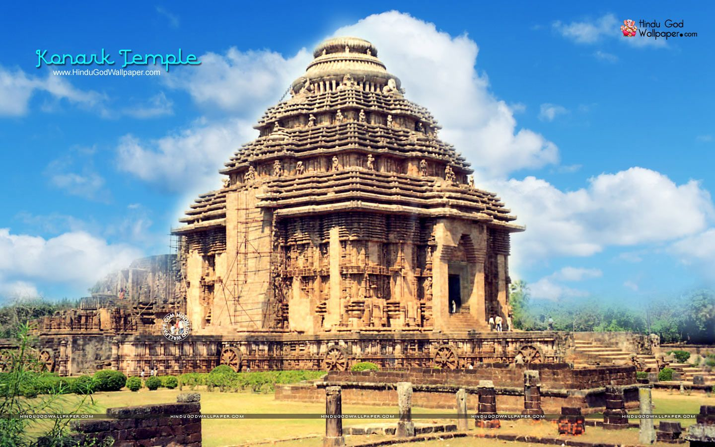 Konark Temple HD Wallpaper For Desktop Free Download