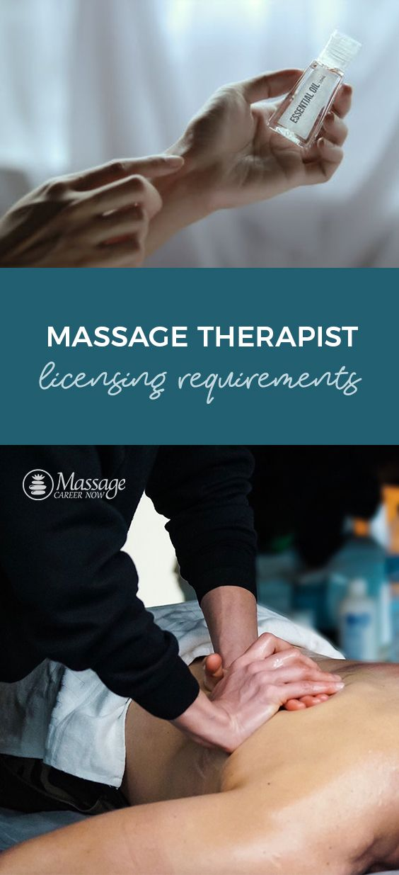 The National Massage Certification Requirements A State By State