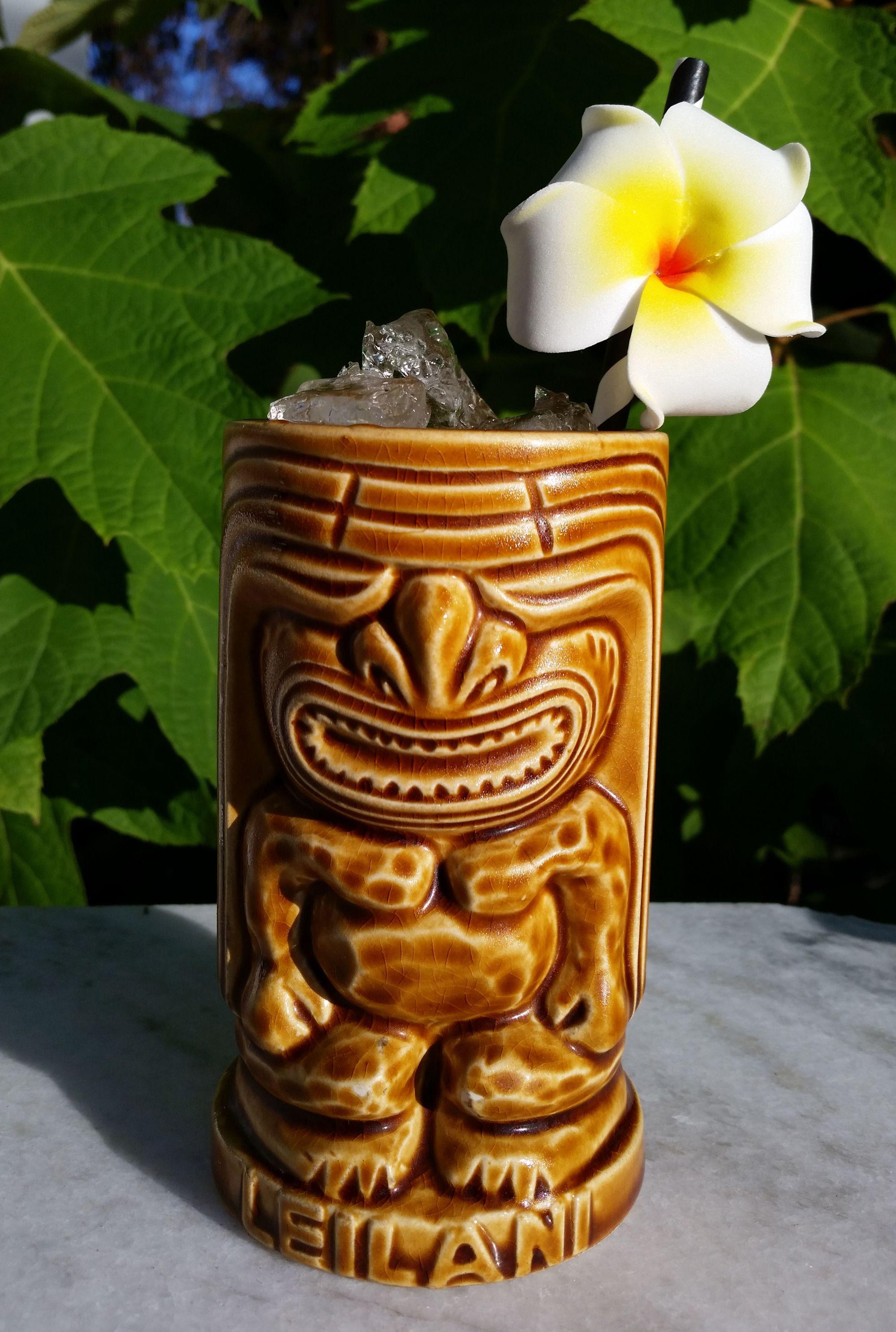 Leiitonmemain barbados rum lime juice passion fruit