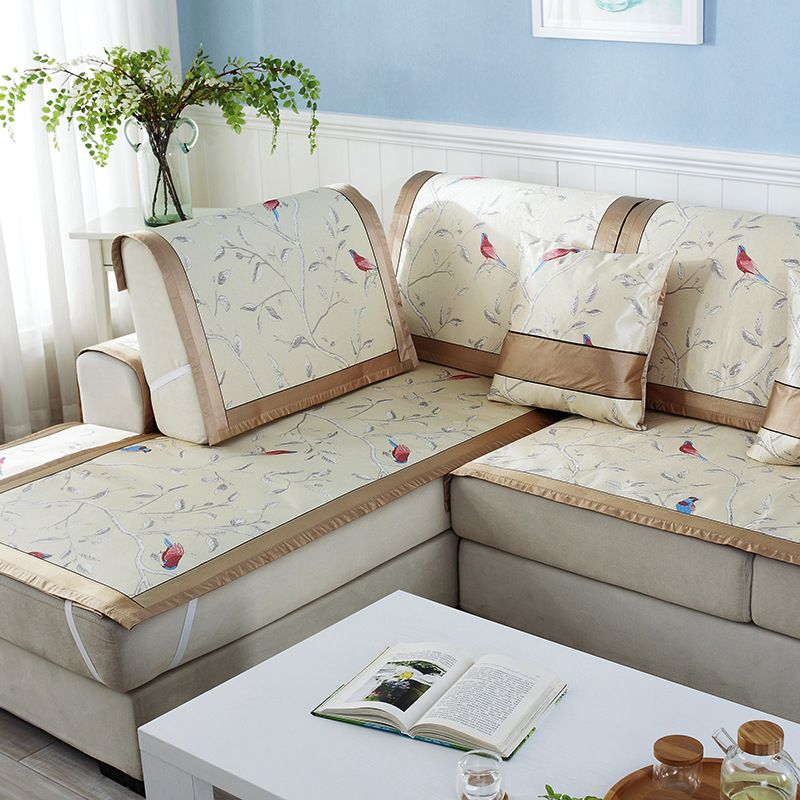 2016 New Arrival Printed Pastoral Floral Combination Sofa Cover Couch Fabric Sofa Slipcovers For L Shaped Af Modern Sofa Designs Sofa Design Fabric Sofa Cover