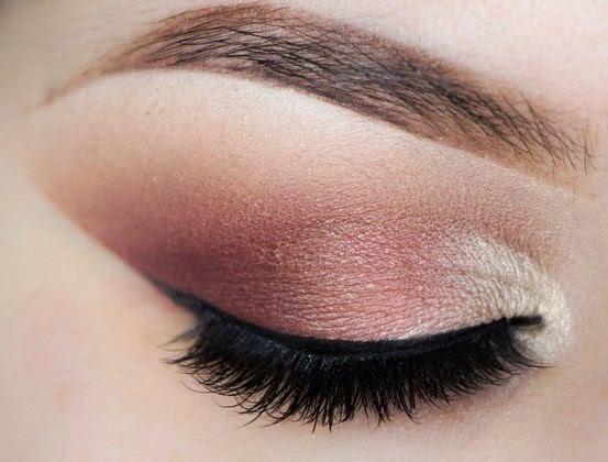 Maquillaje de ojos en tonos marrones para el día y la noche Makeup - maquillaje natural de dia