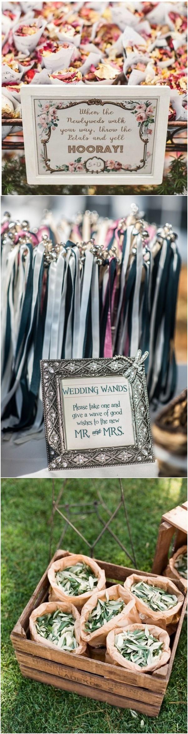 wedding exit send off ideas Wedding exits, Wedding wands