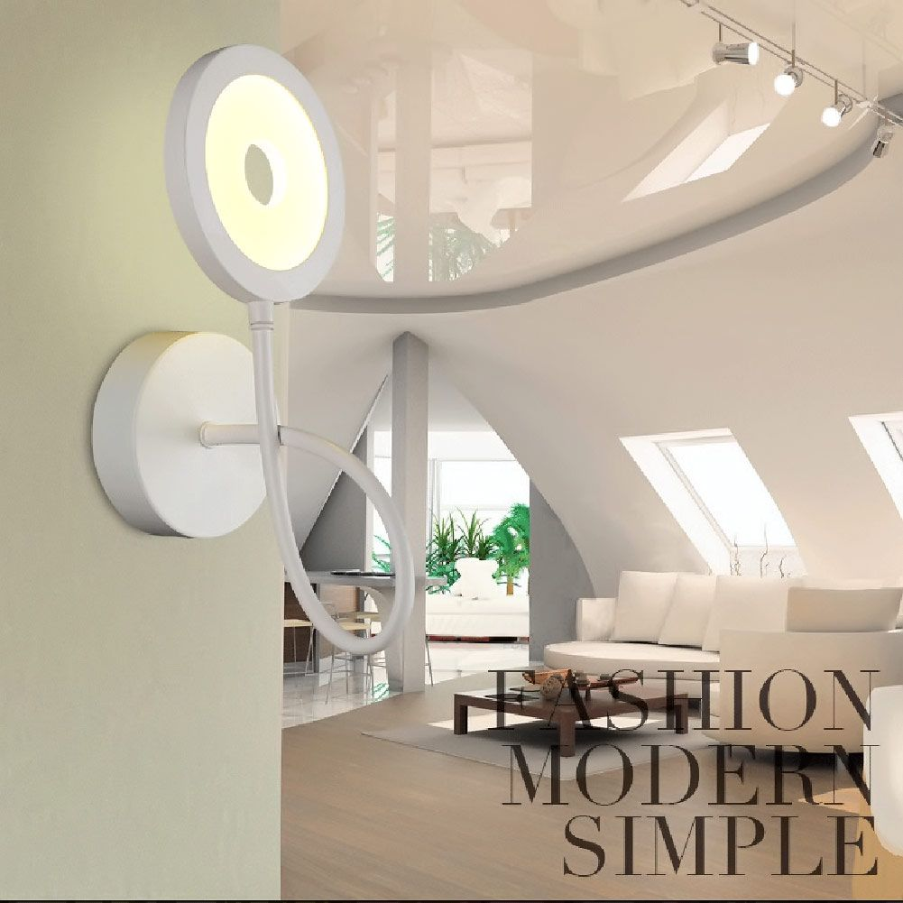Modern Style Bedside Wall Lamp Bedroom Stair Lamp Acrylic Wall Lights LED  Wall Light Lamp For Bedroom Decor