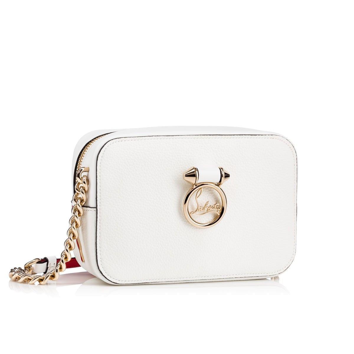 Rubylou mini white leather bag Christian Louboutin CVNhp1g