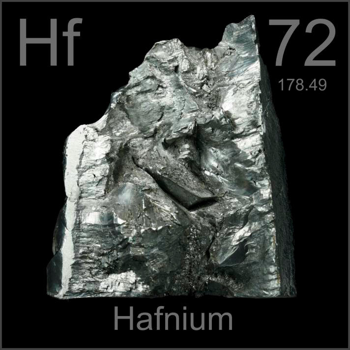 Heavy 290g Lump A Sample Of The Element Hafnium In The Periodic Table Periodic Table Rocks And Minerals Transition Metal