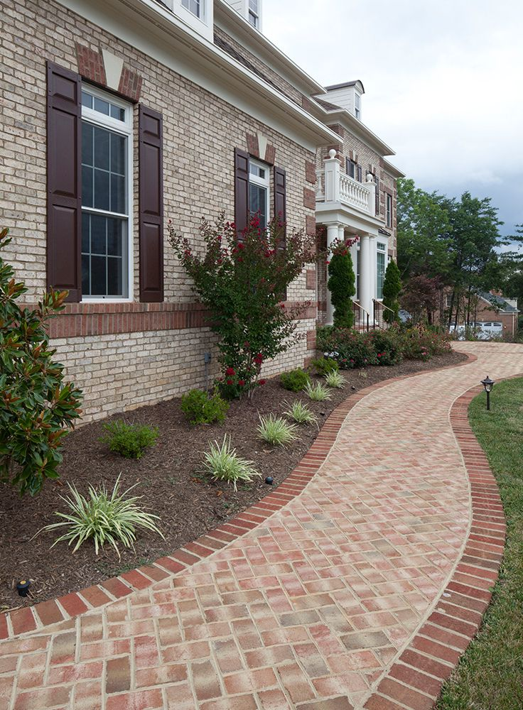 This Beautiful Brick Home Features A Rowlock And Soldier