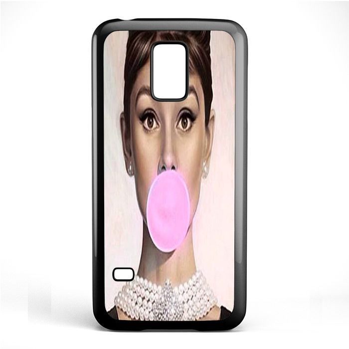 Audrey Hepburn Bubblegum TATUM-1129 Samsung Phonecase Cover Samsung Galaxy S3 Mini Galaxy S4 Mini Galaxy S5 Mini