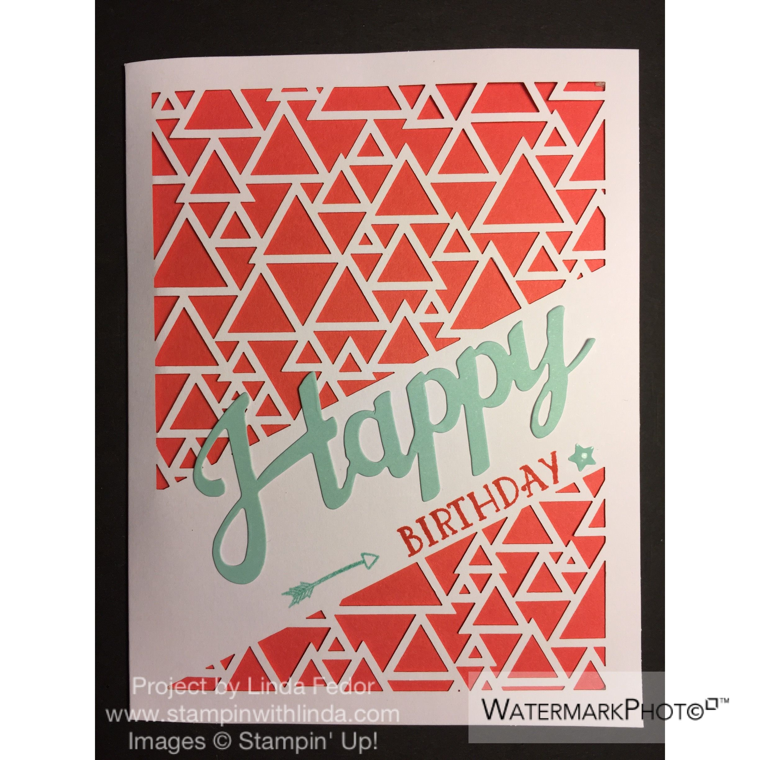 Watermelon Wonder Alternate Card Using The Stampin Up May 2016