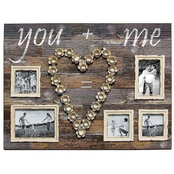 5 Opening Wooden You And Me Collage Frame 120 Aud Liked On