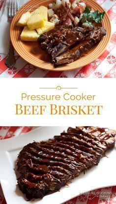 Smoky Beef Brisket in the Pressure Cooker Smoky Beef Brisket in the Pressure Cooker