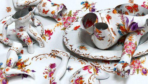 #爆艺术#Kim Joon, Awakened Ceramics_雲爆弾