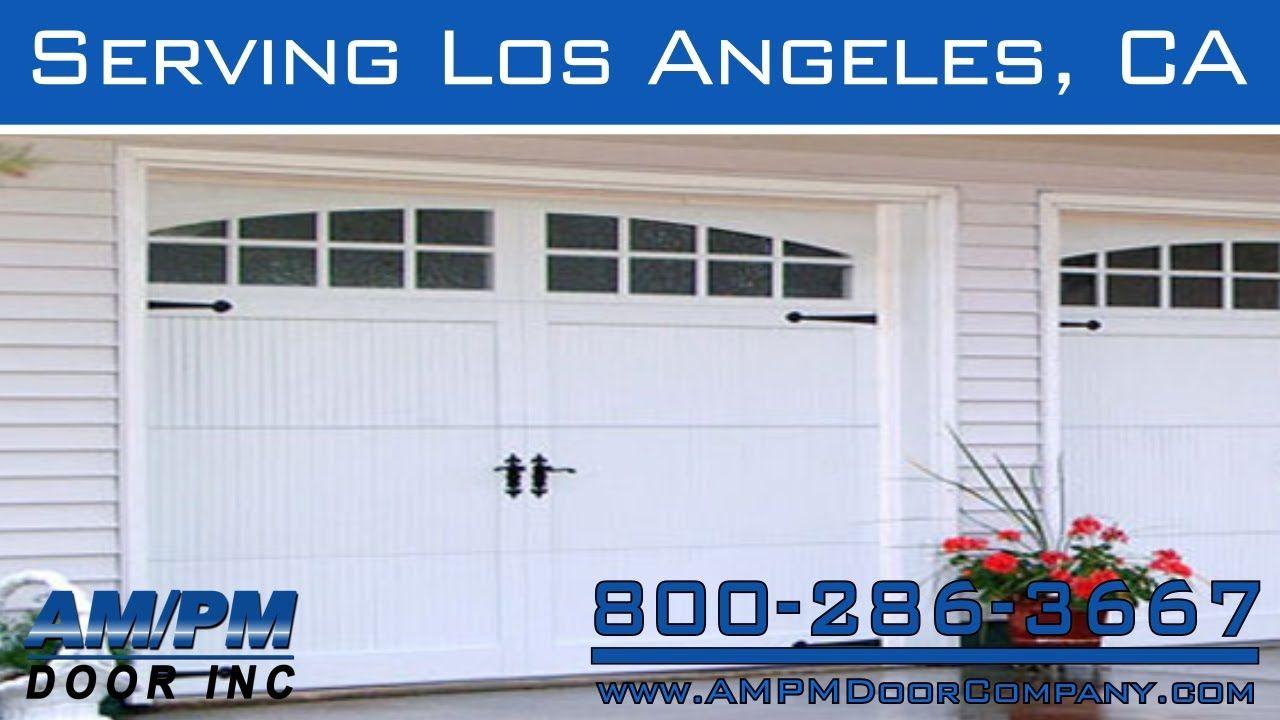Los Angeles Garage Security Door Broken Spring Cable Repair Fix Garage Security Security Door Residential Garage Doors