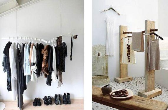 Burros o expositores de ropa son percheros para colgar - Burra para colgar ropa ...