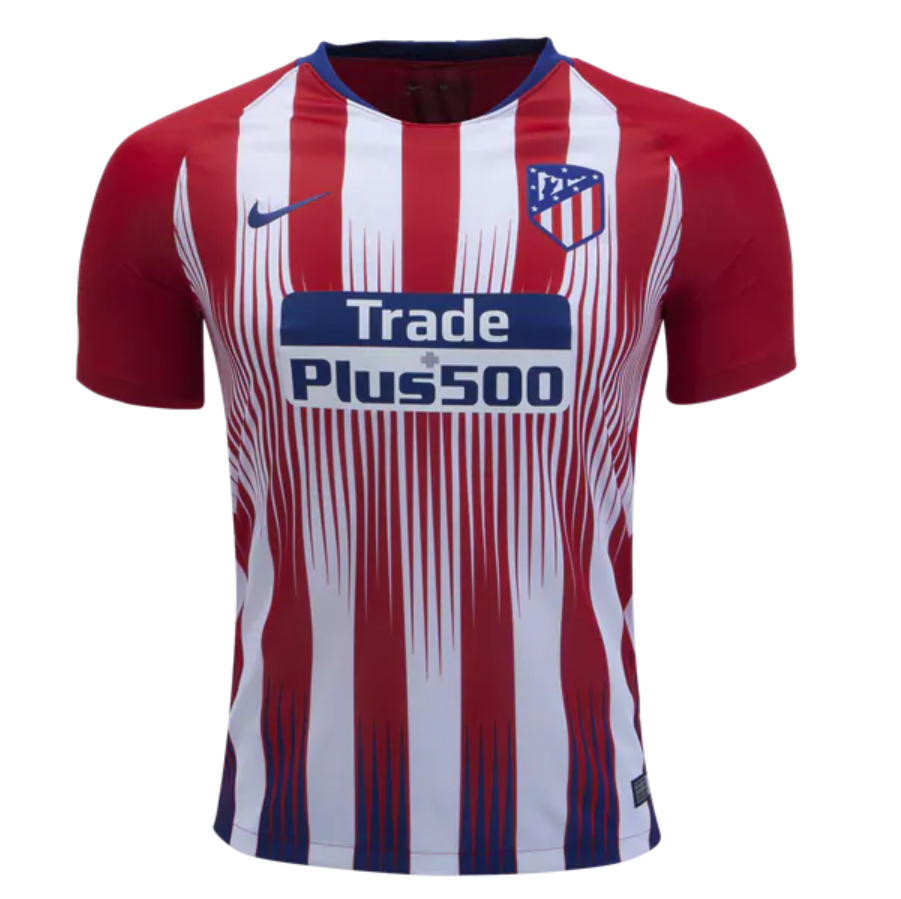 Atletico Madrid 18/19 Home Men Soccer Jersey Personalized