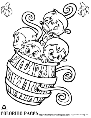 Coloring Pages Monkeys