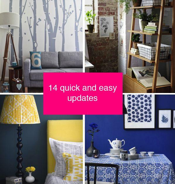 12 Quick And Easy Decorating Updates Decor Bedroom Decor Interior