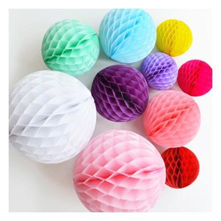Honeycomb Decorations Paper Balls With Colortex You Can Afford To Be Creative Our Premium Quality