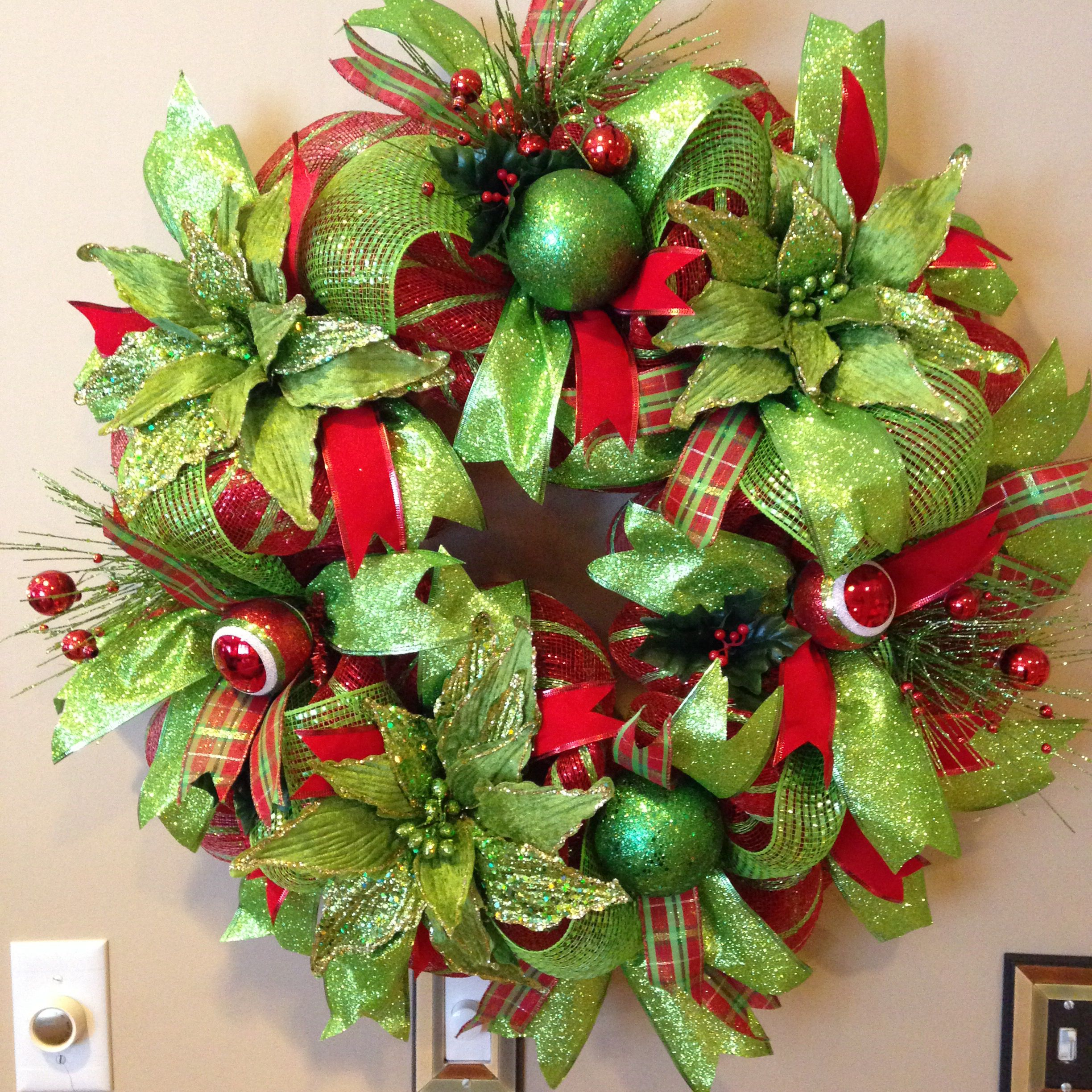 christmas wreath bay wreath designs wwwetsycomshopbaywreathdesigns - Christmas Wreaths Etsy