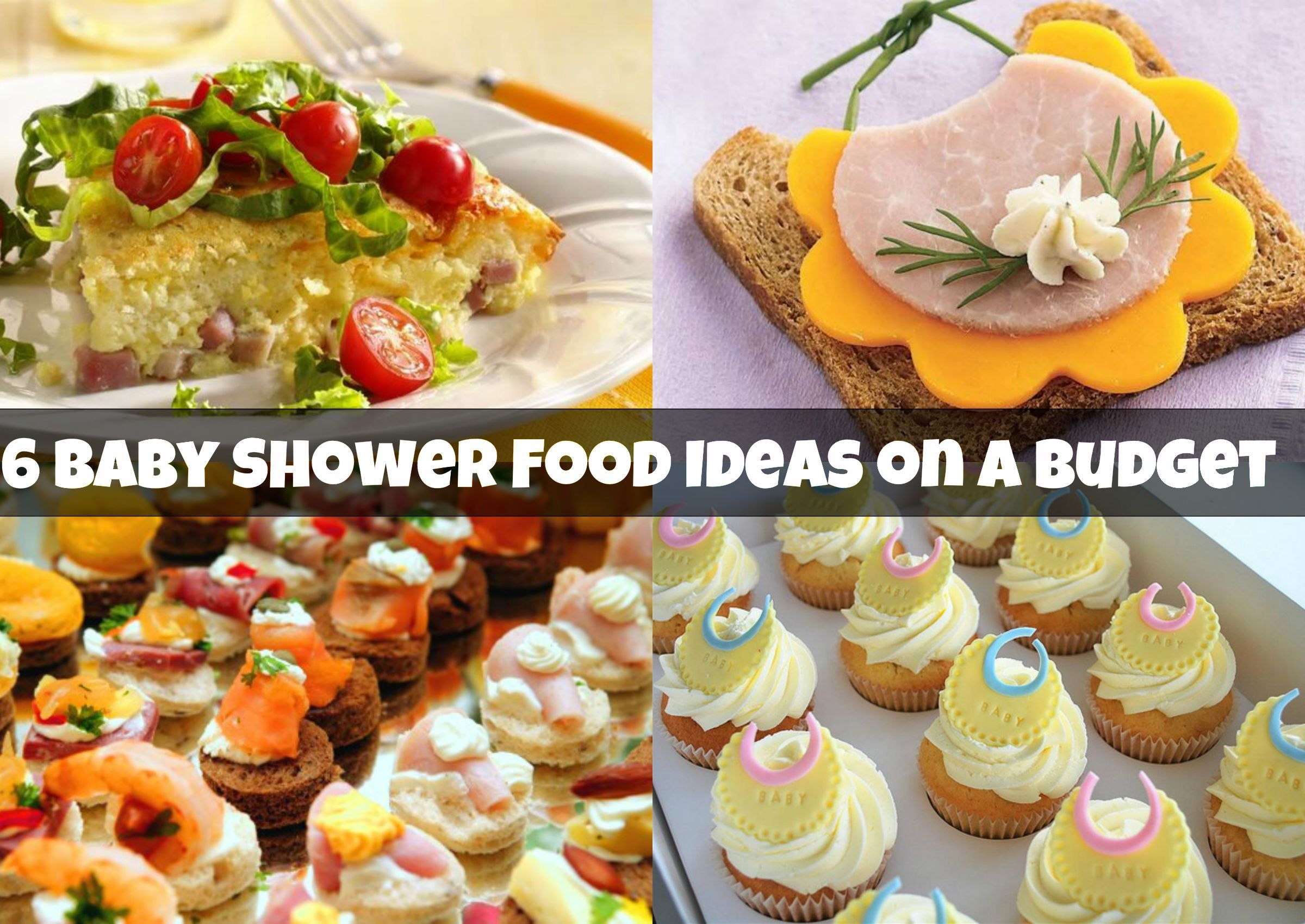 baby shower food ideas on a budget baby shower ideas on a ...