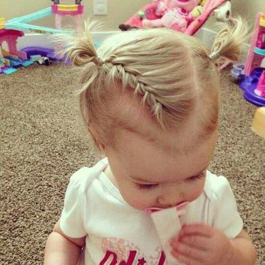 Peinado … en 2019 Coiffure bebe, Coiffure bébé fille et