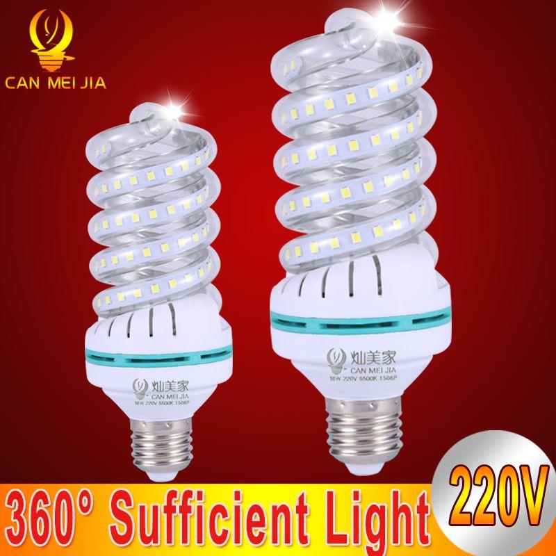 Ikeacasa Ampoules Bombillas Lampada Gluhbirnen Lampa Lumen Spiral Led Corn Bulb E27 5w 7w 9w 12w 18w 24w 32w Led Lights Led Spotlight Led Light Bulb Led Lights