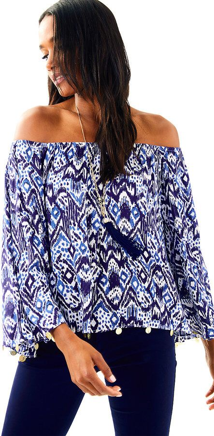 c2c6393846a Lilly Pulitzer Delaney Top #ad   Tops   Tops, Fashion, Cute pants