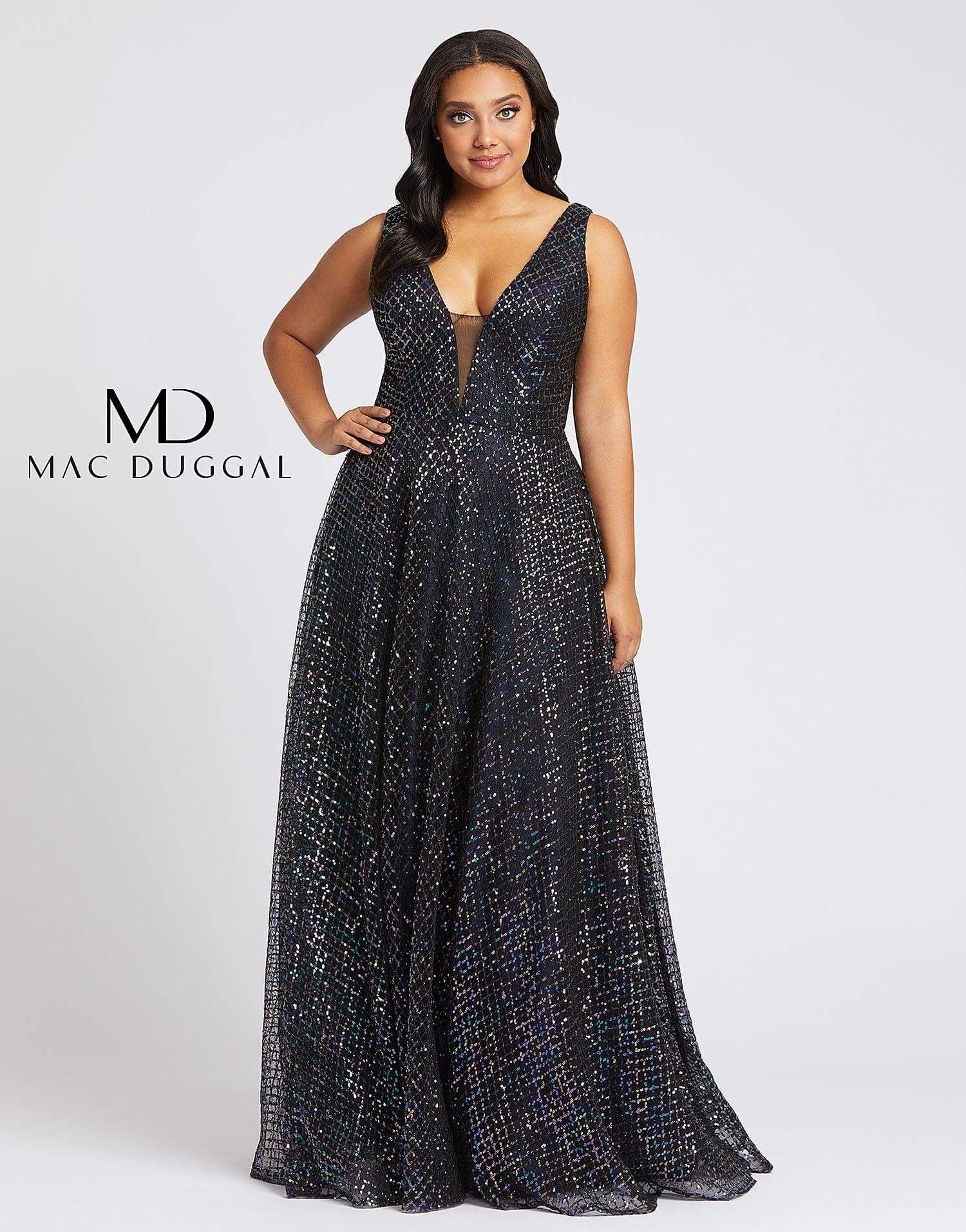 77717f mac duggal plus size prom dress plus size prom