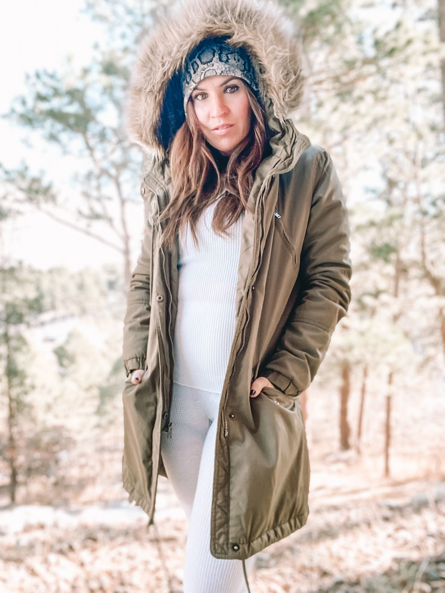 'Tis the season to be freezin' #americaneagle#instagood