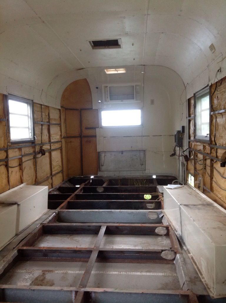 travel trailer redo   This trailer had been gutted by the