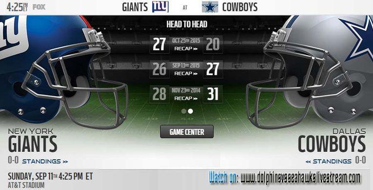 Cowboys Vs Giants New York Giants Vs Dallas Cowboys Live Stream Game Streaming Football Free San Francisco 49ers Los Angeles Chargers Cowboys Vs Giants