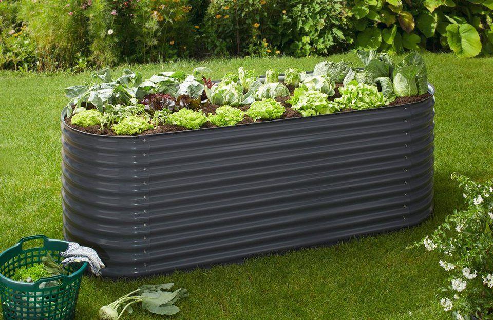 Konifera Hochbeet Bxtxh 240x80x82 Cm Kaufen Hochbeet Verzinkter Stahl Garten