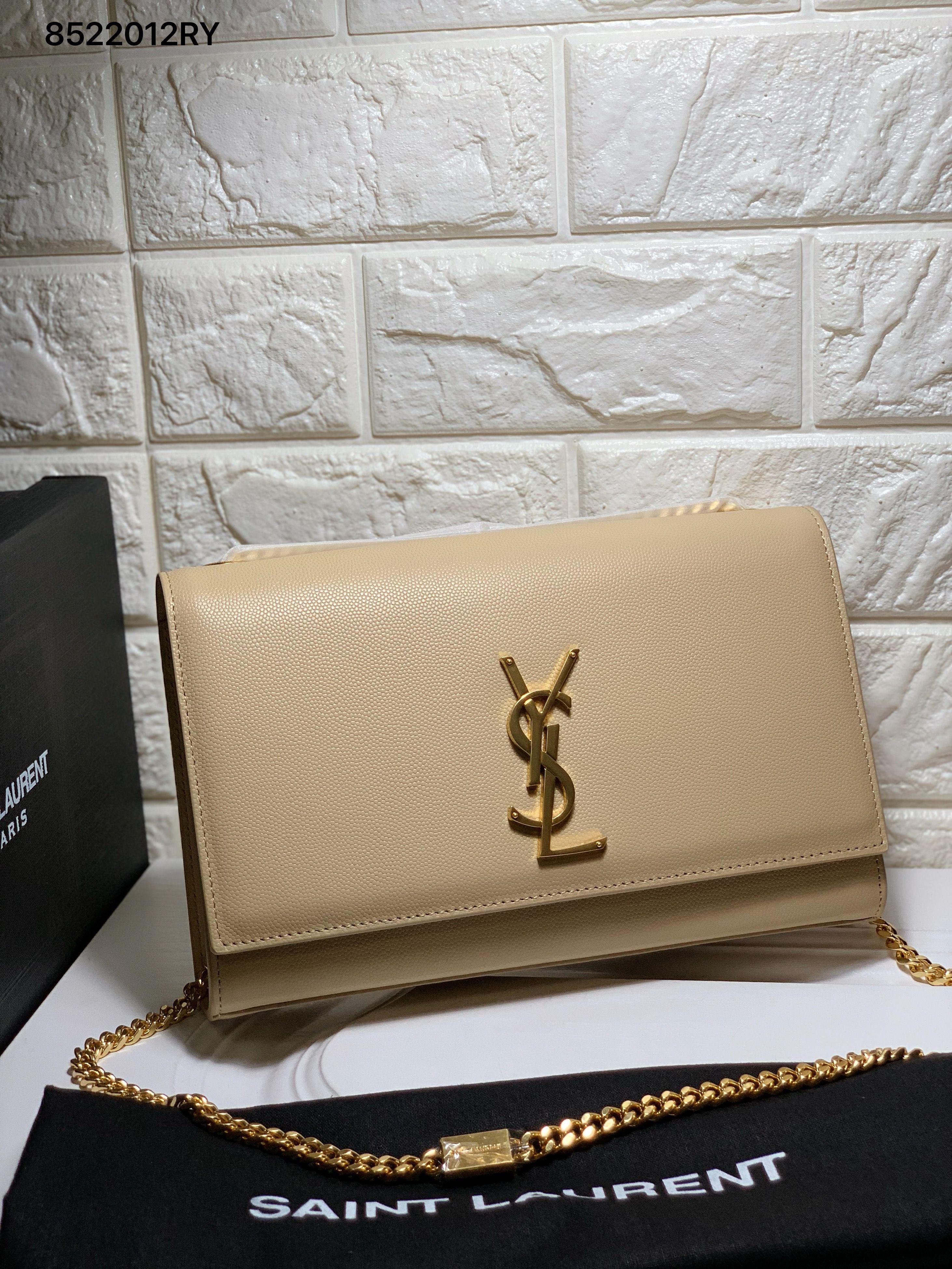 Yves Saint Laurent - Medium Kate Tassel Chain Bag in Nude