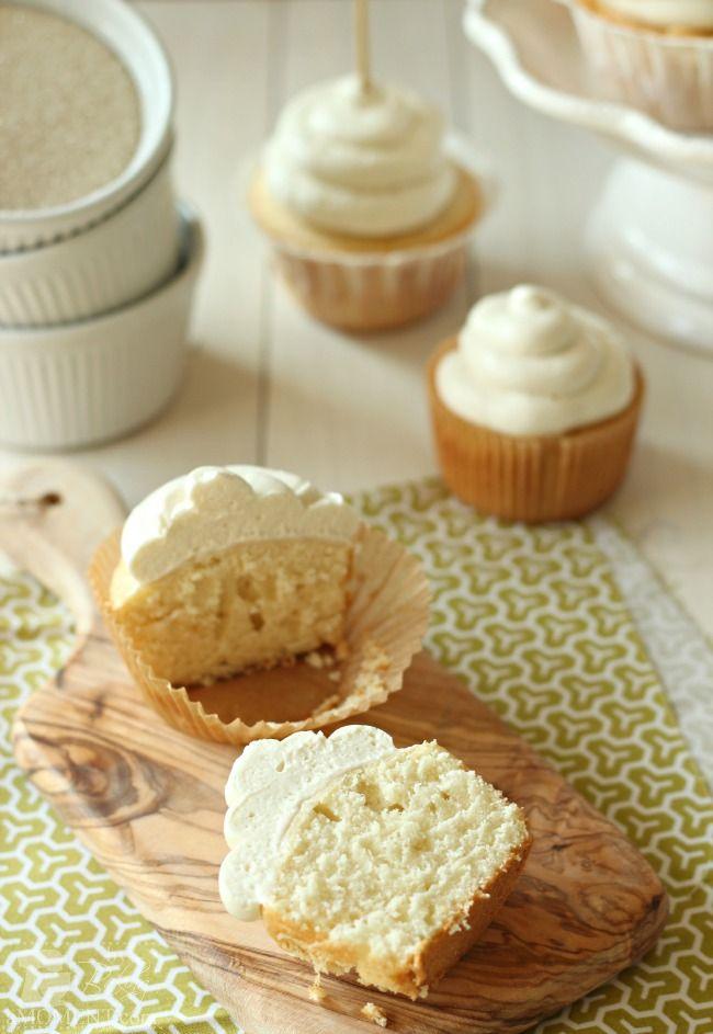 soft vanilla cupcakes