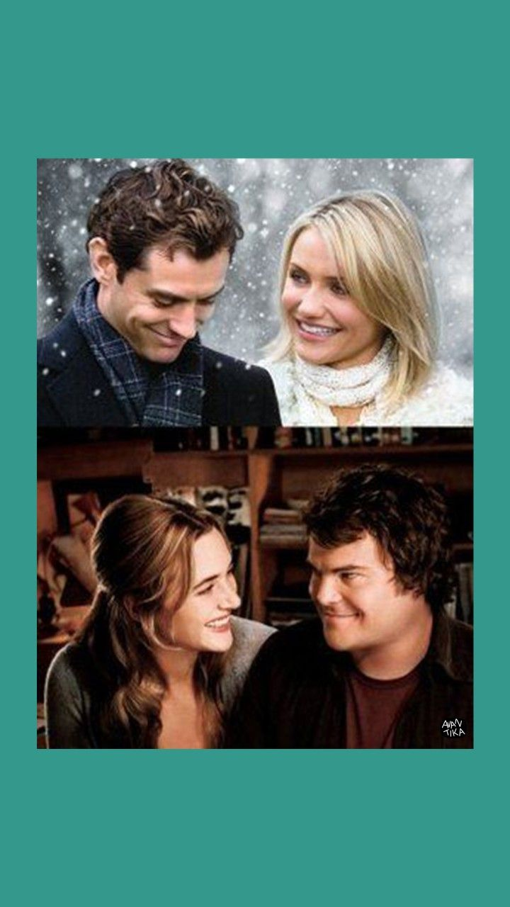 The holiday . . . #christmasmovie #romanticmovien #movieposter #christmas