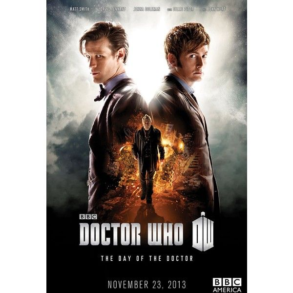 'Doctor Who' Matt Smith and David Tennant Join Forces in 50th... ❤ liked on Polyvore featuring doctor who, backgrounds, photos, pictures and dr. who