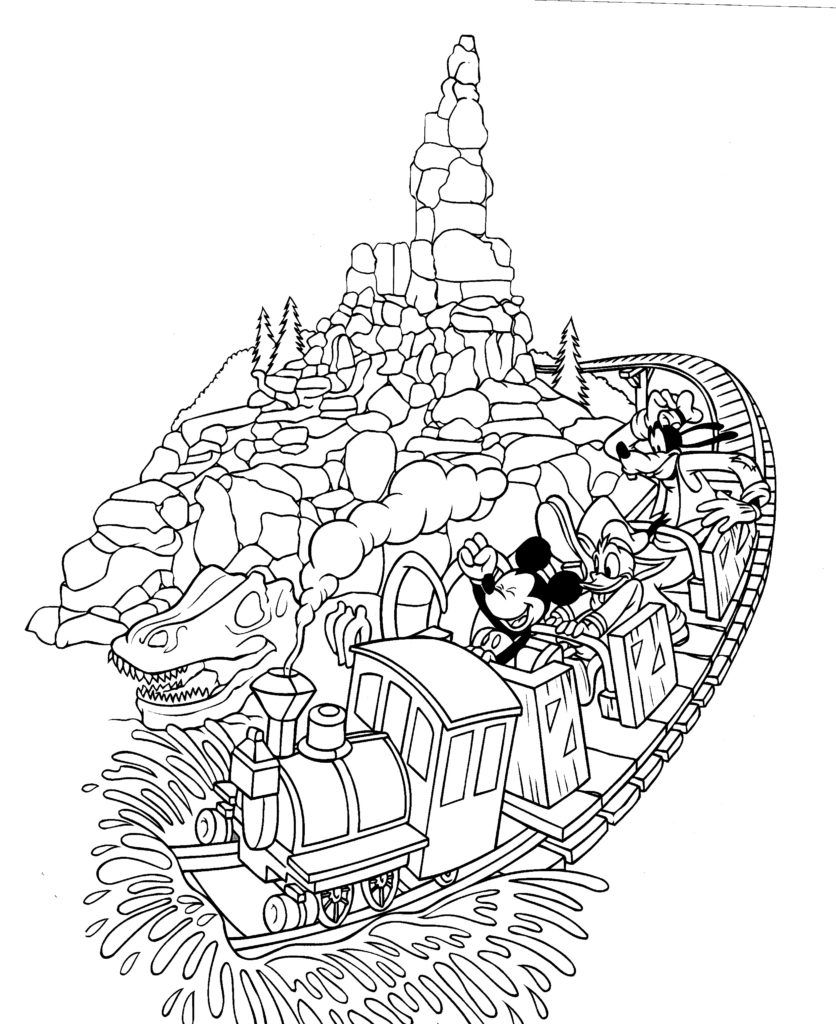 Walt Disney World Coloring Pages The Disney Nerds Podcast Disney Nerd Disney World Coloring Pages