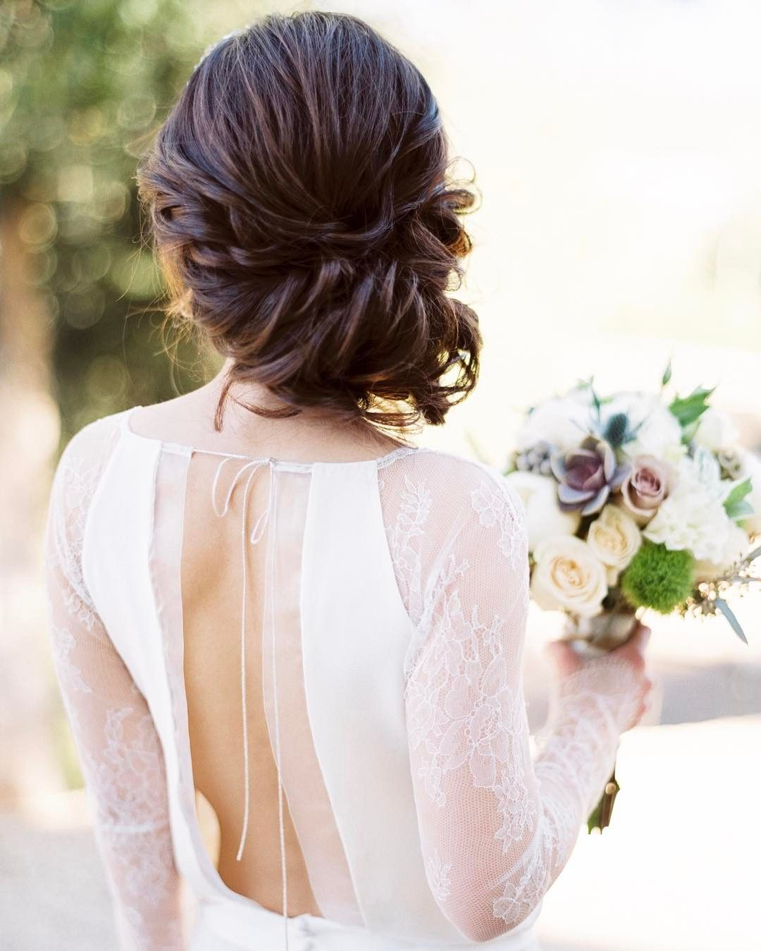 Lovely Classic Updo | Wedding Hair & Makeup | Pinterest | Classic ...