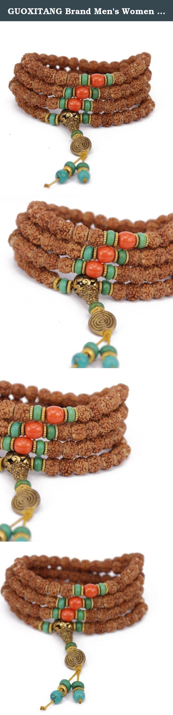 Guoxitang brand menus women bodhi seed wood bracelet link wrist
