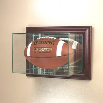 Glass Football Display Cases And Holders Football Displays Football Display Cases Display Case