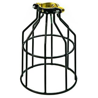 Plt Mc200 Metal Lamp Guard Black Replacement Cage
