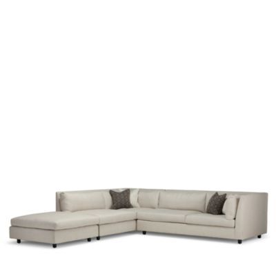 Mitc Gold Bob Williams Franco Sofa Sectional Bloomingdale S