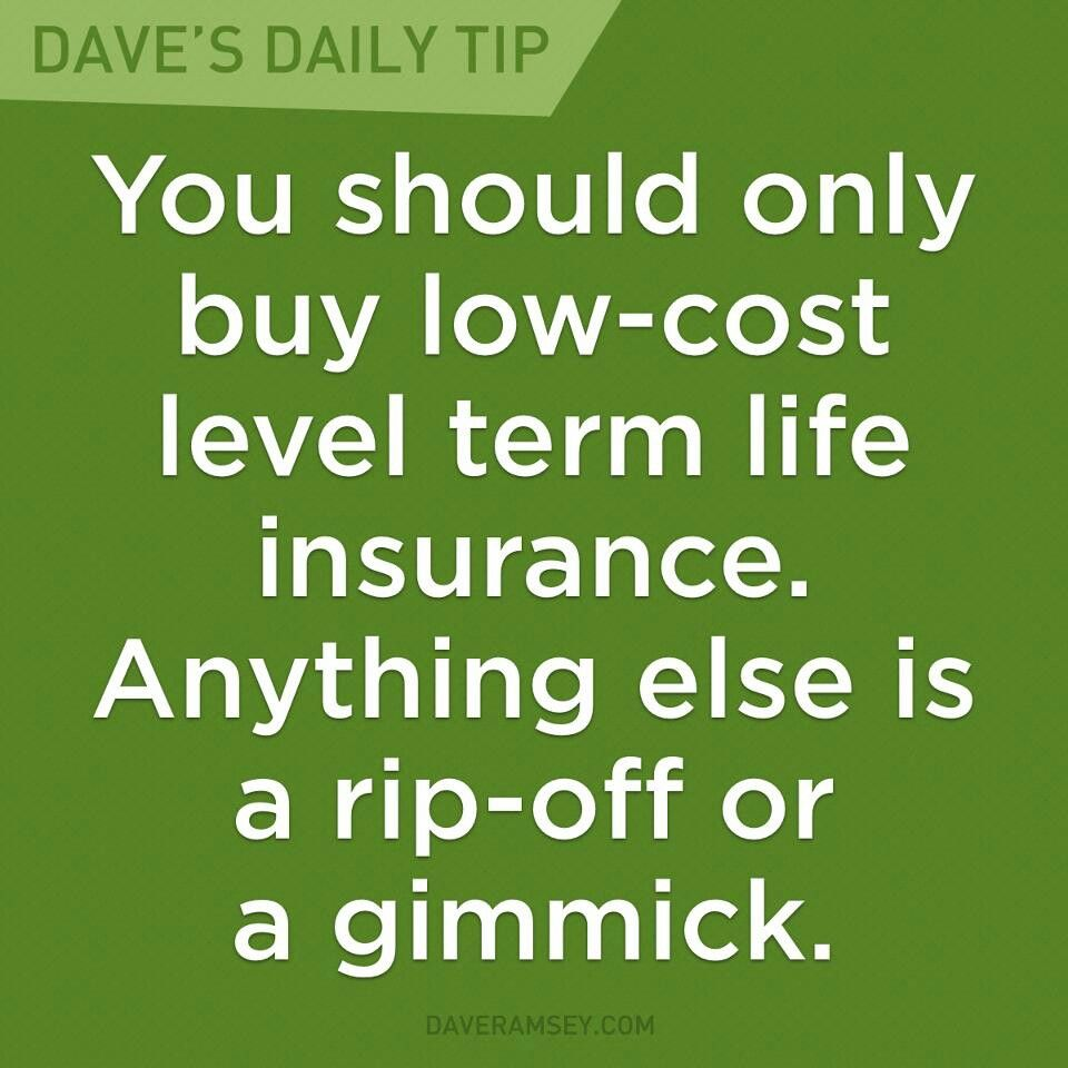 Life Insurance Quotes Compare The Market: Dave Ramsey Homepage In 2018