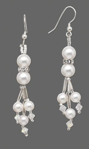 Jewelry Design - Earrings with Swarovski Crystal Pearl Beads - Fire Mountain Gems and Beads