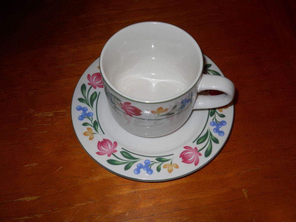 """Farberware """"Dorchester"""" Cup & Saucer Sets (2) #Farberware"""
