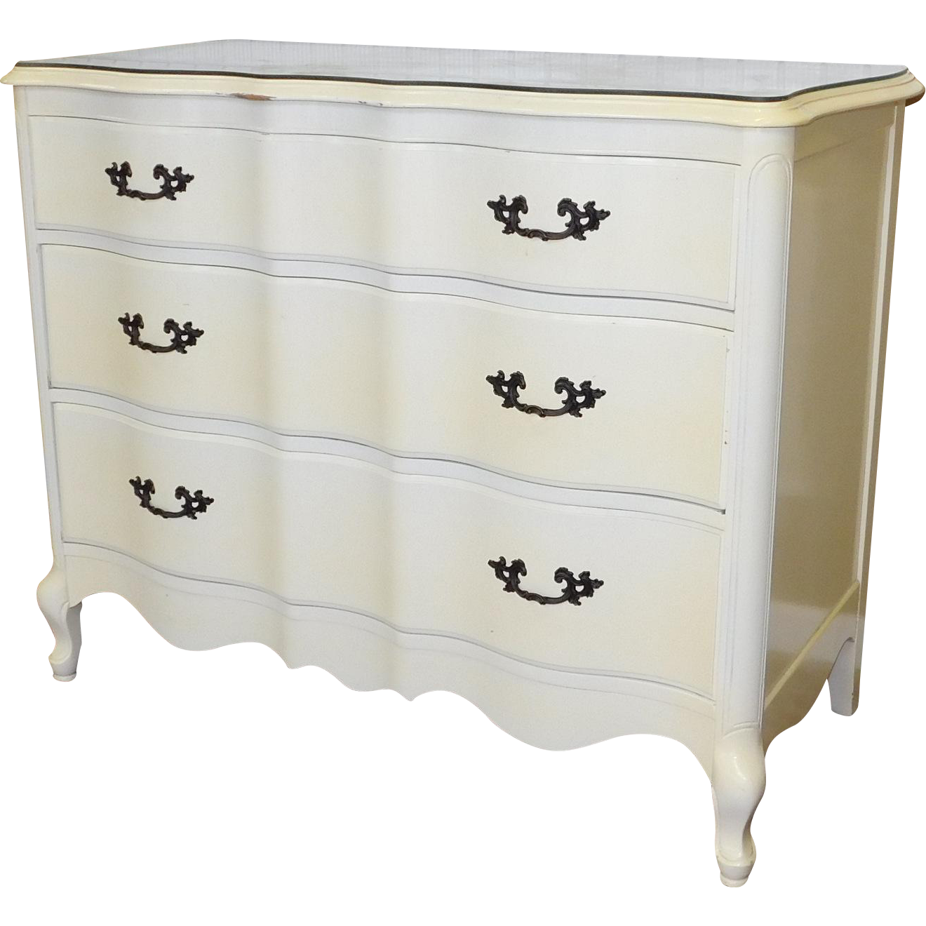 1960s fruitwood french provincial white lacquered bedroom dresser rh pinterest co uk
