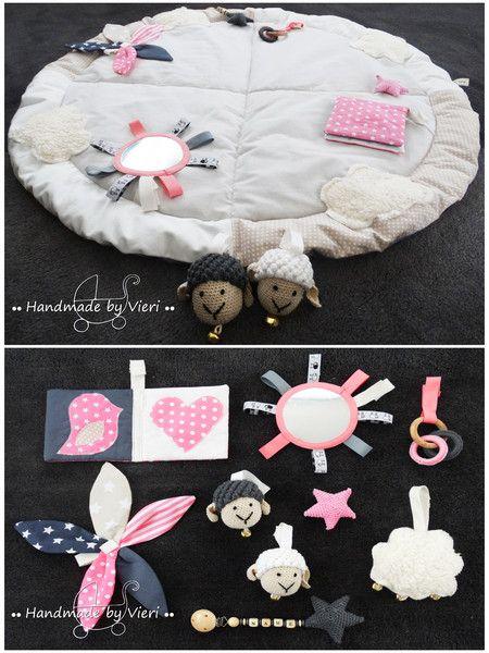 motorikspielzeug spieldecke mit bogen sch fchen rosa oder blau ein designerst. Black Bedroom Furniture Sets. Home Design Ideas