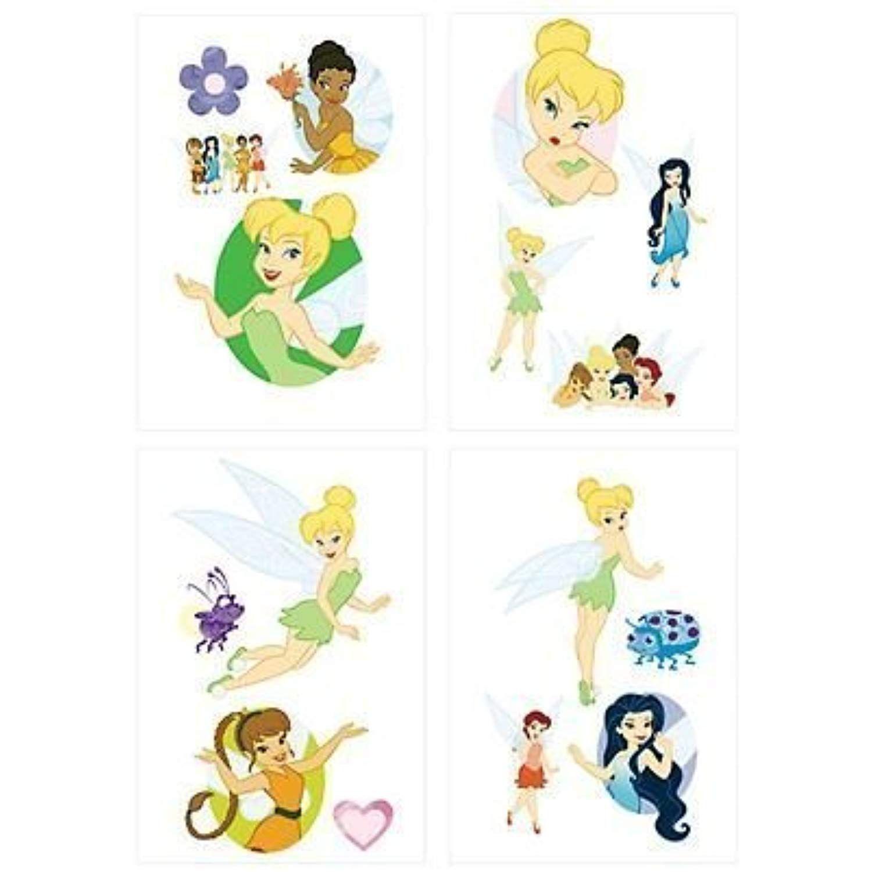 Disney fairies tattoos tinkerbell silvermist rosetta