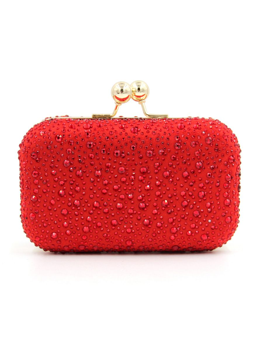 Red Rhinestones Covered Women Clutch Bags Evening Bag Women Bags Sexy  Lingeire   Cheap Plus Size Lingerie At Wholesale Price   Feelovely.com 0c9a3b35ee