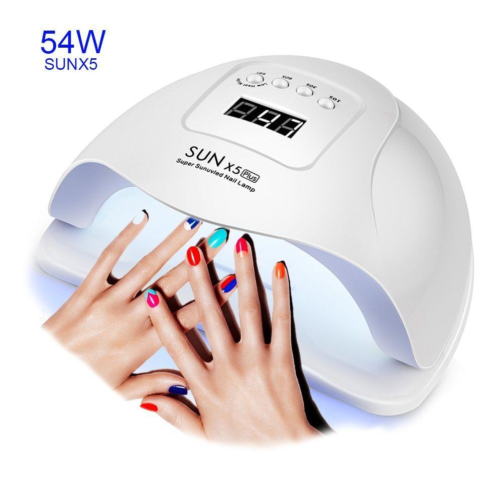 54 36w Sunx 5 Dual Uv Led Nail Lamp 36 Pcs Leds Nail Dryer Sun Light For Curing 54 36w Sunx 5 Dual Uv Led In 2020 Led Nail Lamp Uv Gel Nail Polish Uv Gel Nails